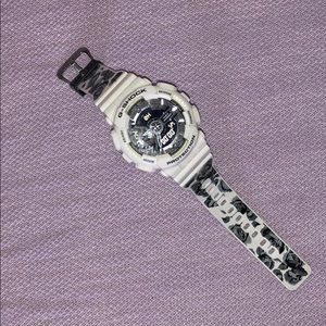 G-Shock Baby G Casio Floral White Watch